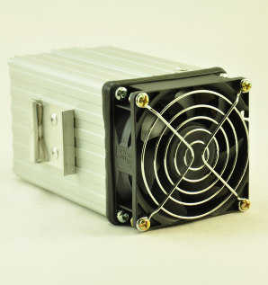 24V, 100W FAN FORCED PTC CONVECTION HEATER Front Facing View
